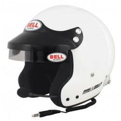 Casque FIA Bell MAG 1 Rally  Hans