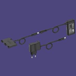 Alimentation externe pour recharger la batterie lithium-ion pour ADSgps/ADSmag