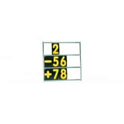 Panneau de Panneautage OMP Alu 3 rangées