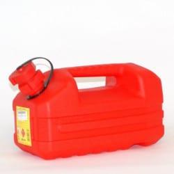 Jerrycan plastique essence 5L