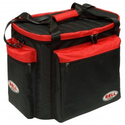 Bell HELMET & GEAR BAG BLACK RED